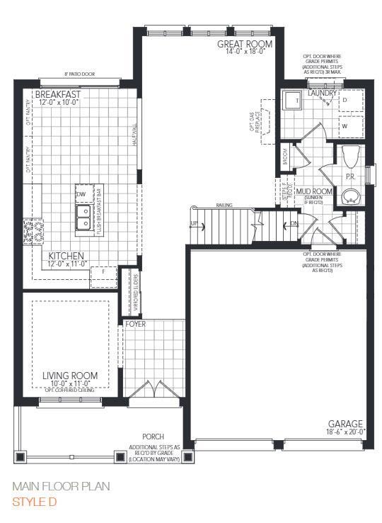 The Birmingham Floorplan 1