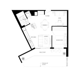 Ortega 675 Floorplan 1