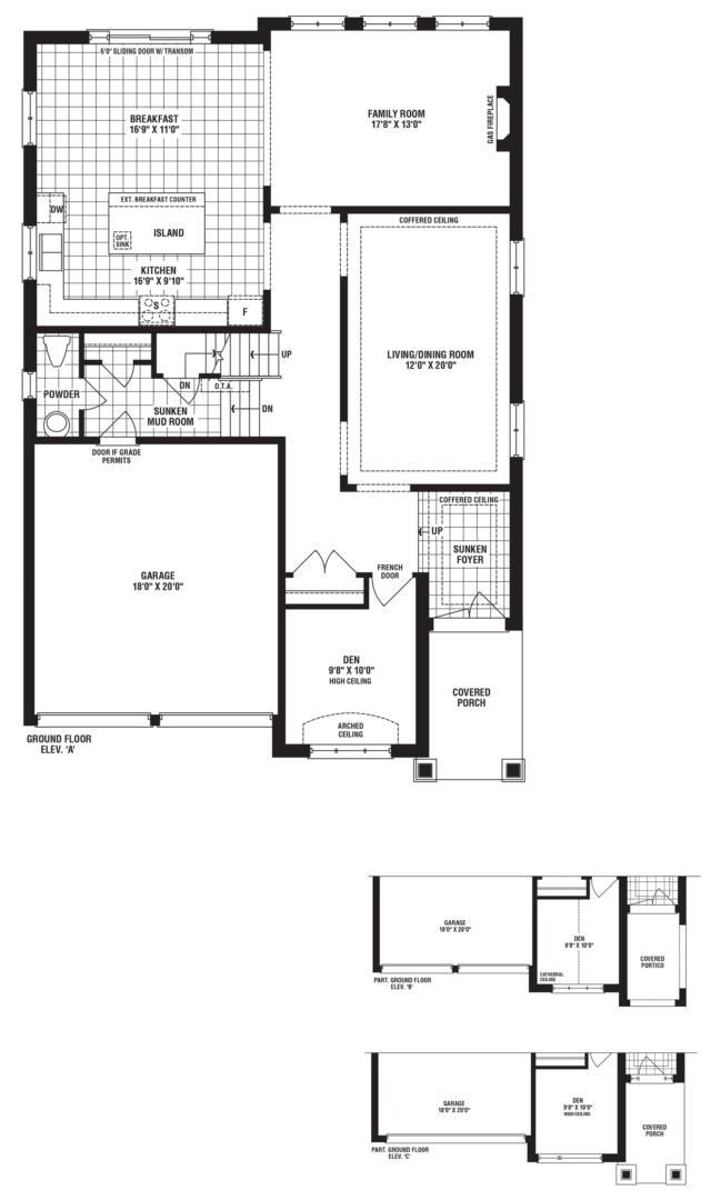Sparkling Floorplan 1