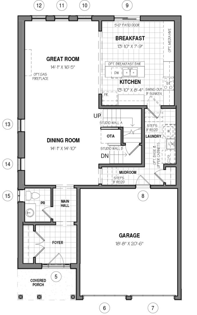 The Able B Floorplan 1