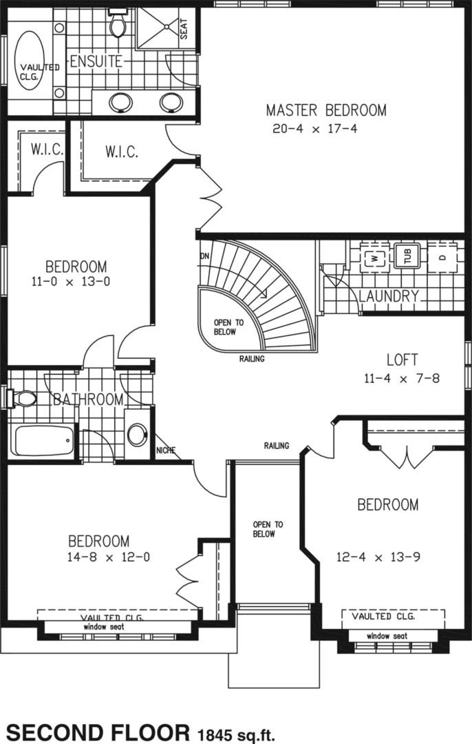 The Skyview Floorplan 2