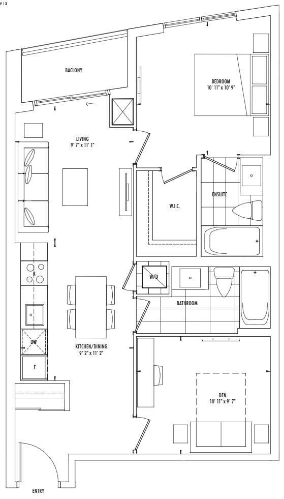 Yonge Floorplan 1