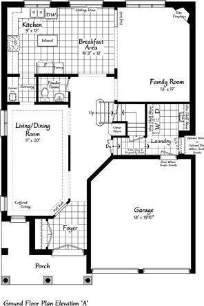 The Providence 14 Floorplan 1