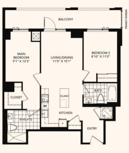 The Foxwood Floorplan 1