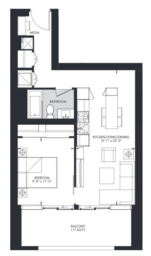 Yorkville 24 Floorplan 1