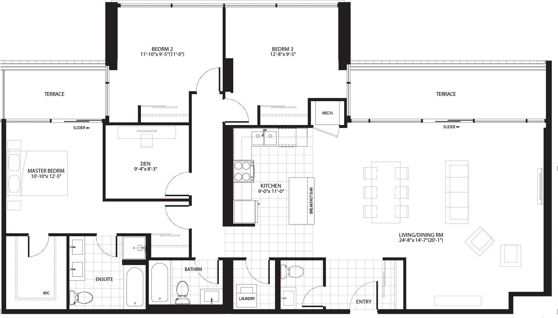 Lombard Floorplan 1