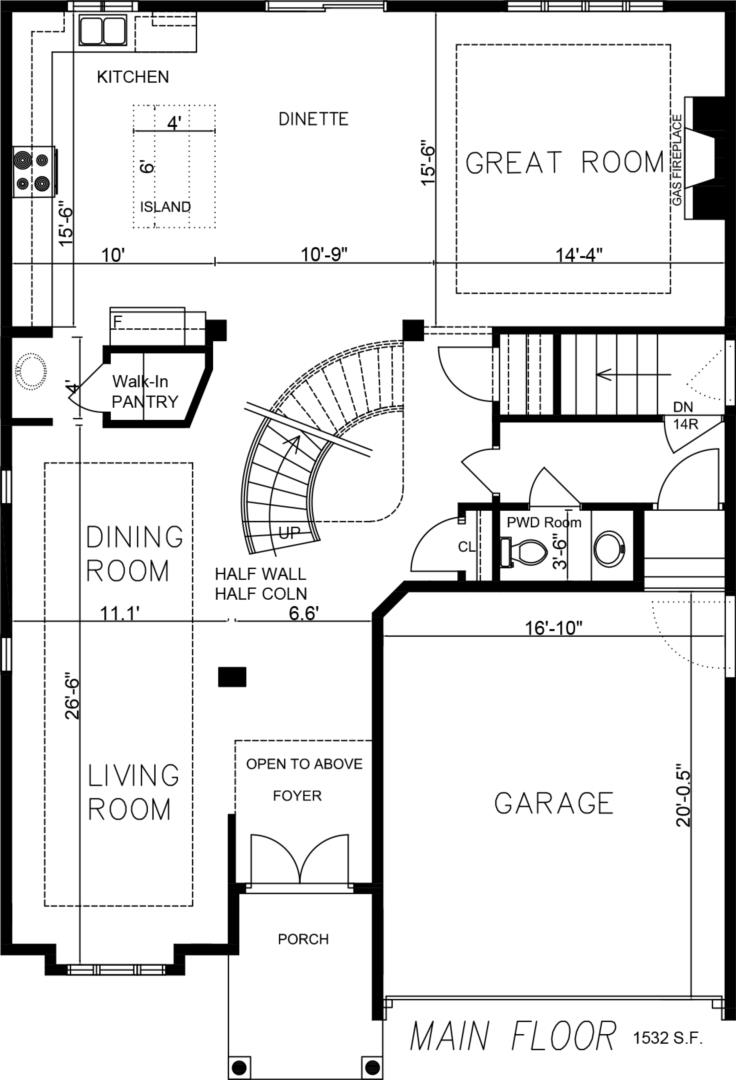The Clearview Floorplan 1