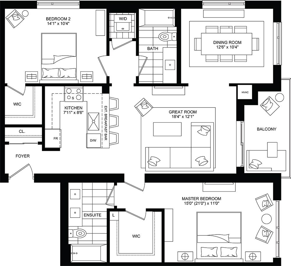 Whisper Floorplan 1