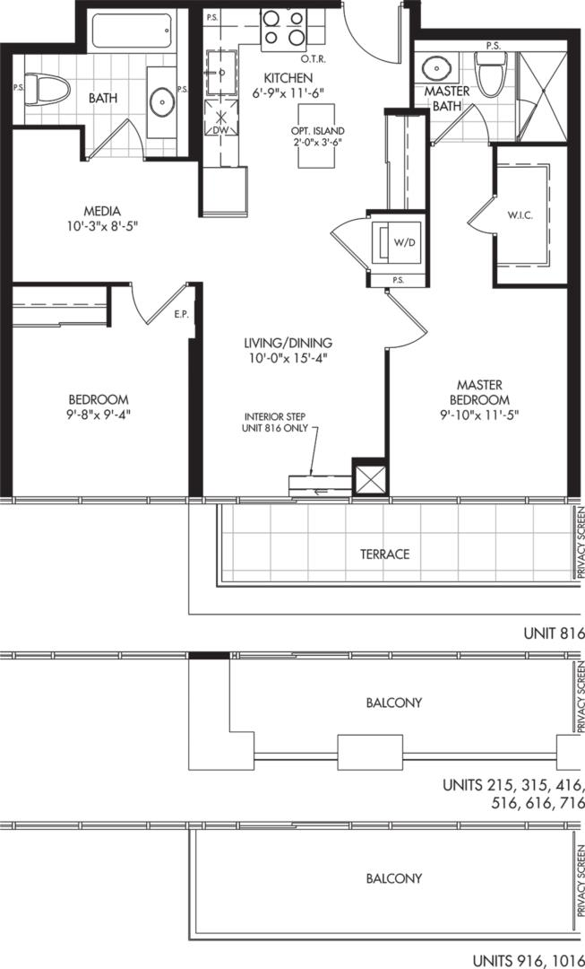 2D-A2 Floorplan 1