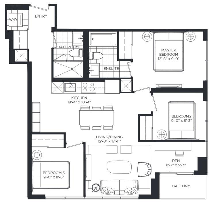 Portobello Floorplan 1