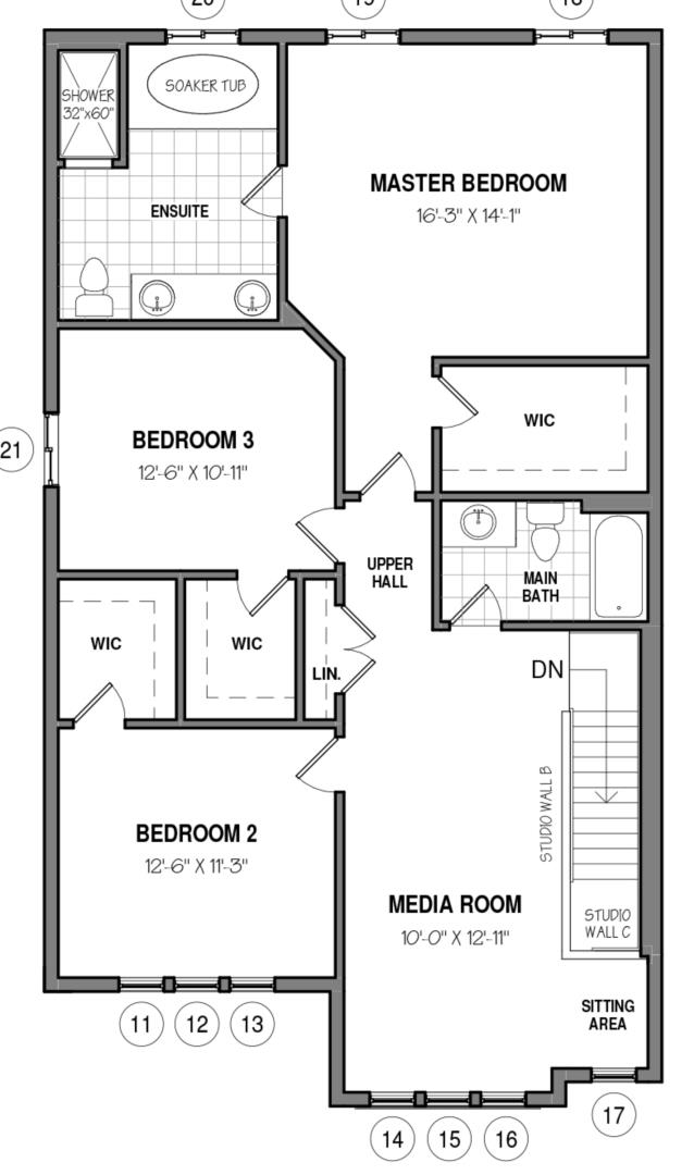 The Rockwell 34 IV A Floorplan 2