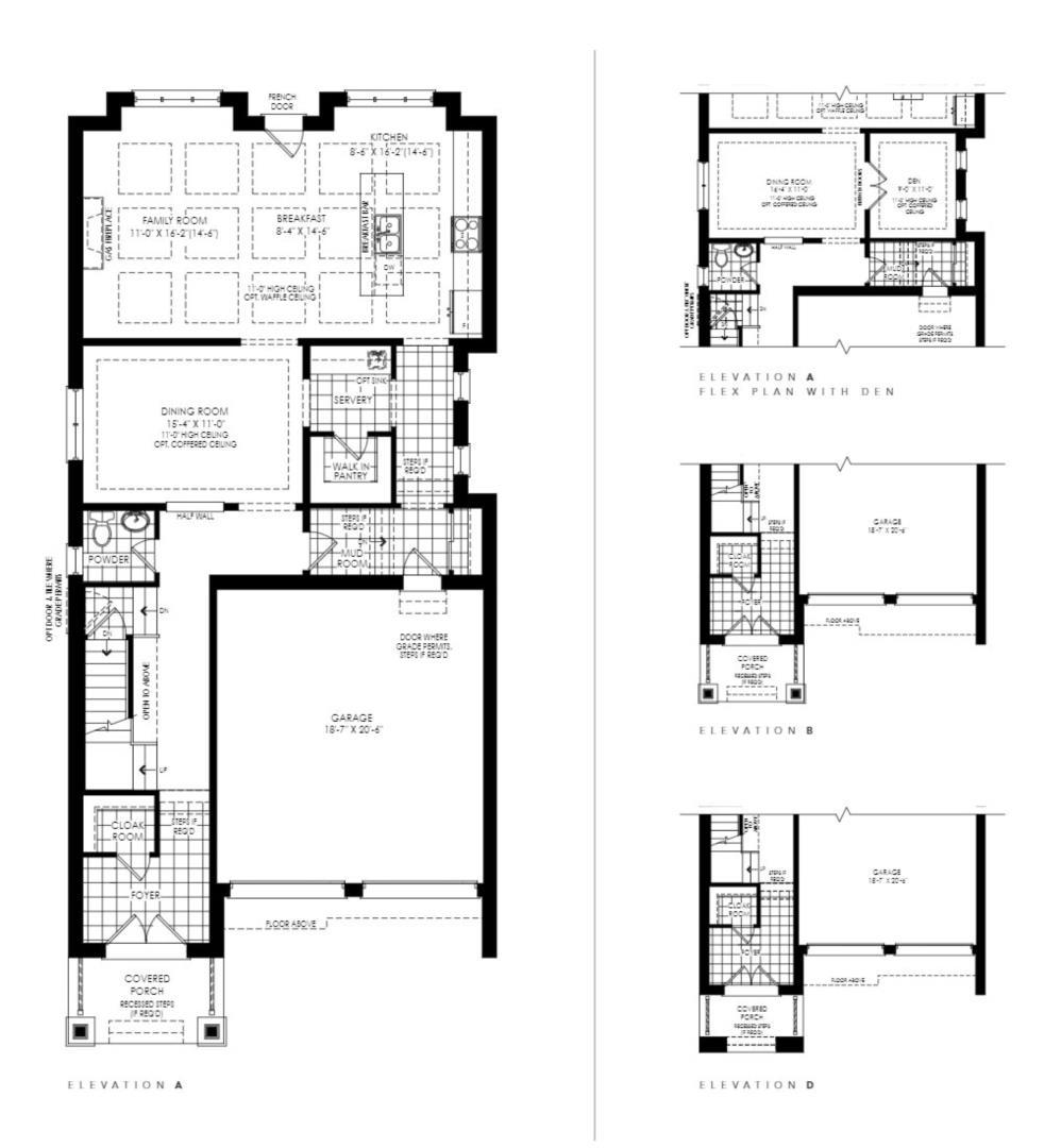 Lot 53 - Winchester B Floorplan 1