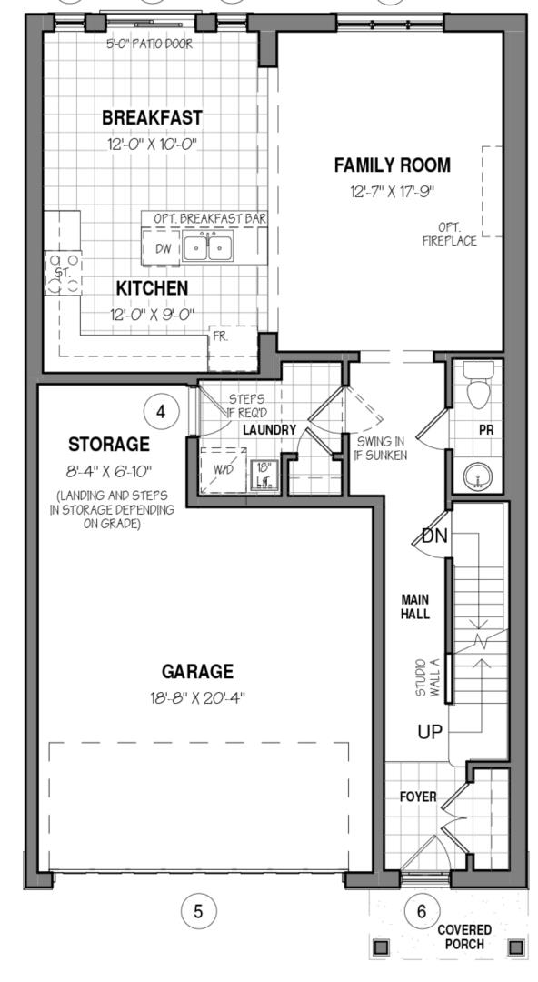 The Rockwell 34 IV B Floorplan 1