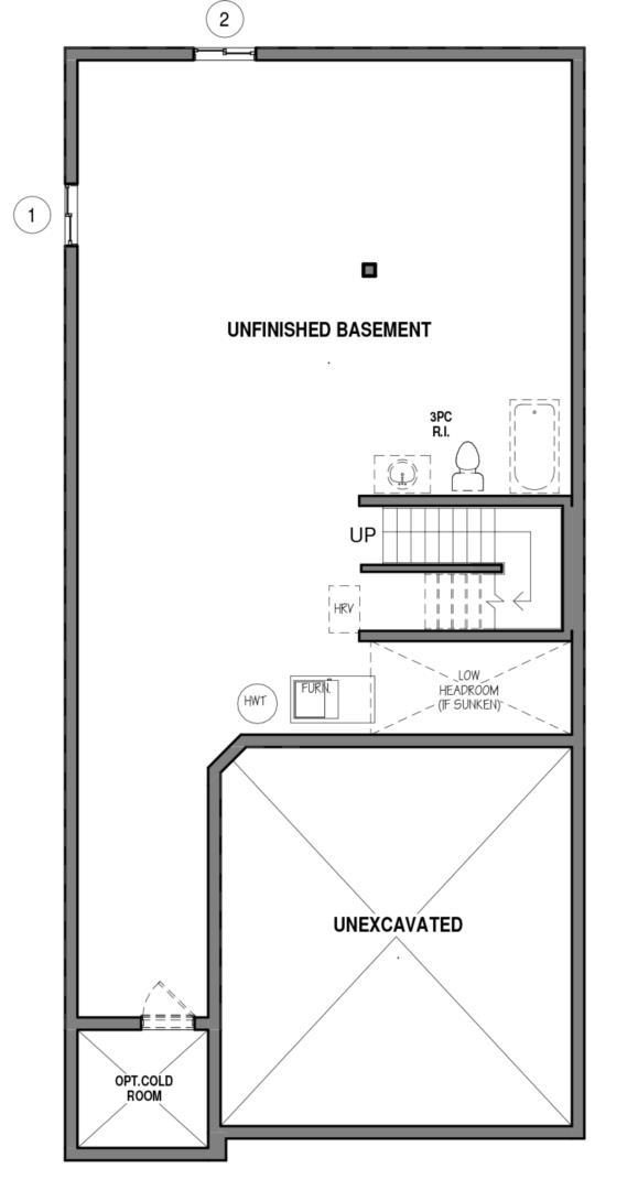 The Hampton 34 IV A Floorplan 3
