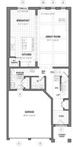 The Kahlo 34 IV B Floorplan 1