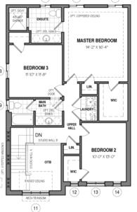 The Oxford 34 IV B Floorplan 2