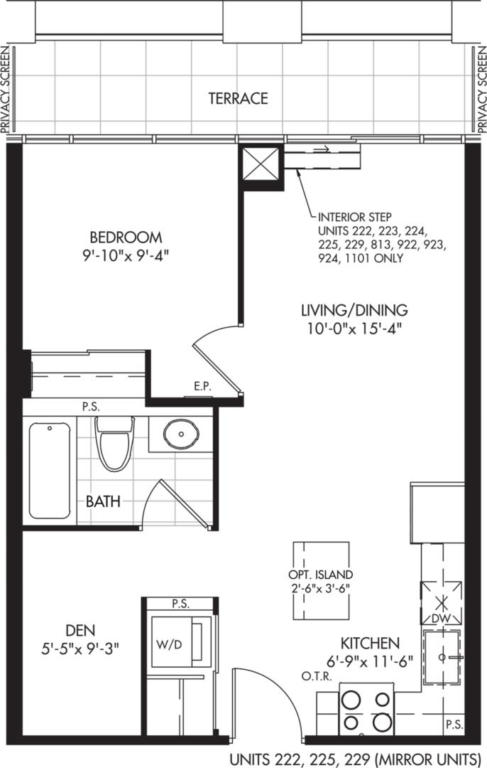 1D-A Floorplan 1