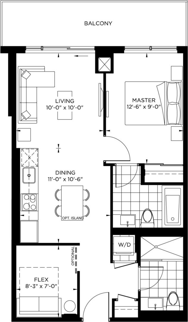 Tower Collection - Nicholson Floorplan 1
