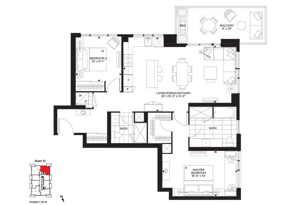 Renaissance Floorplan 1