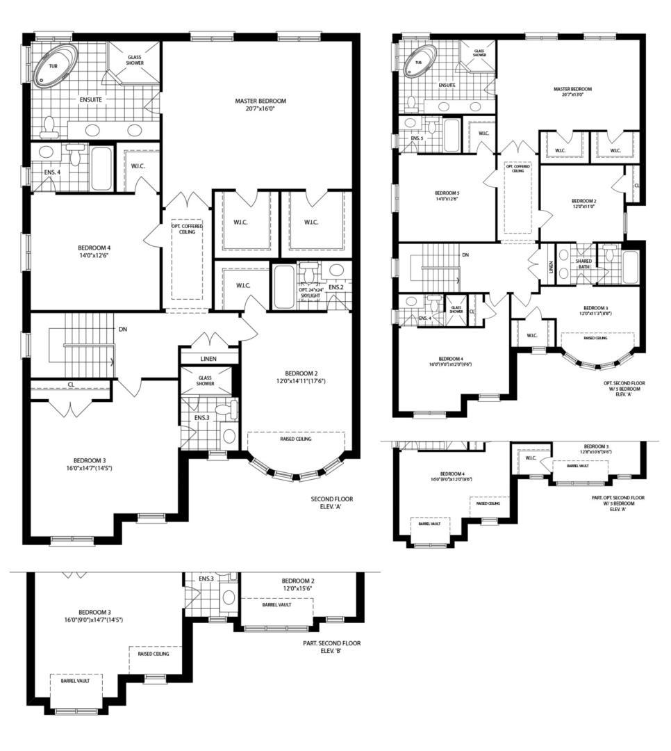 Medici (A) Floorplan 2