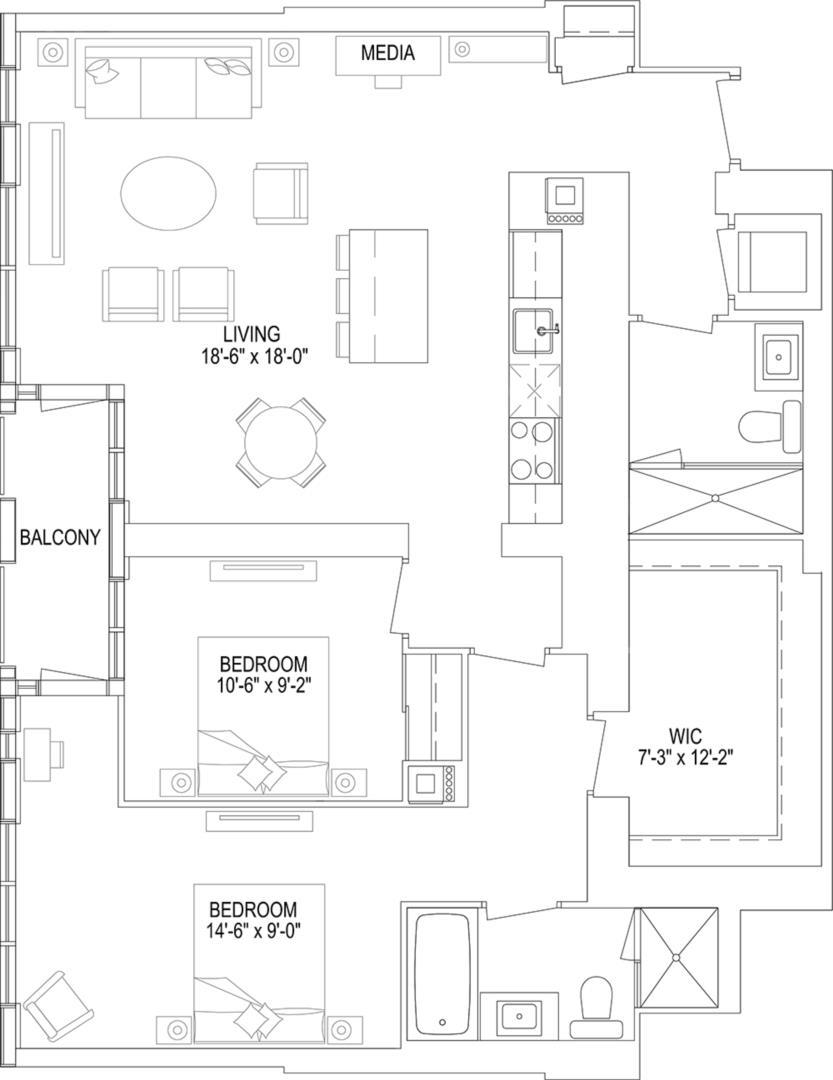 2DC Floorplan 1