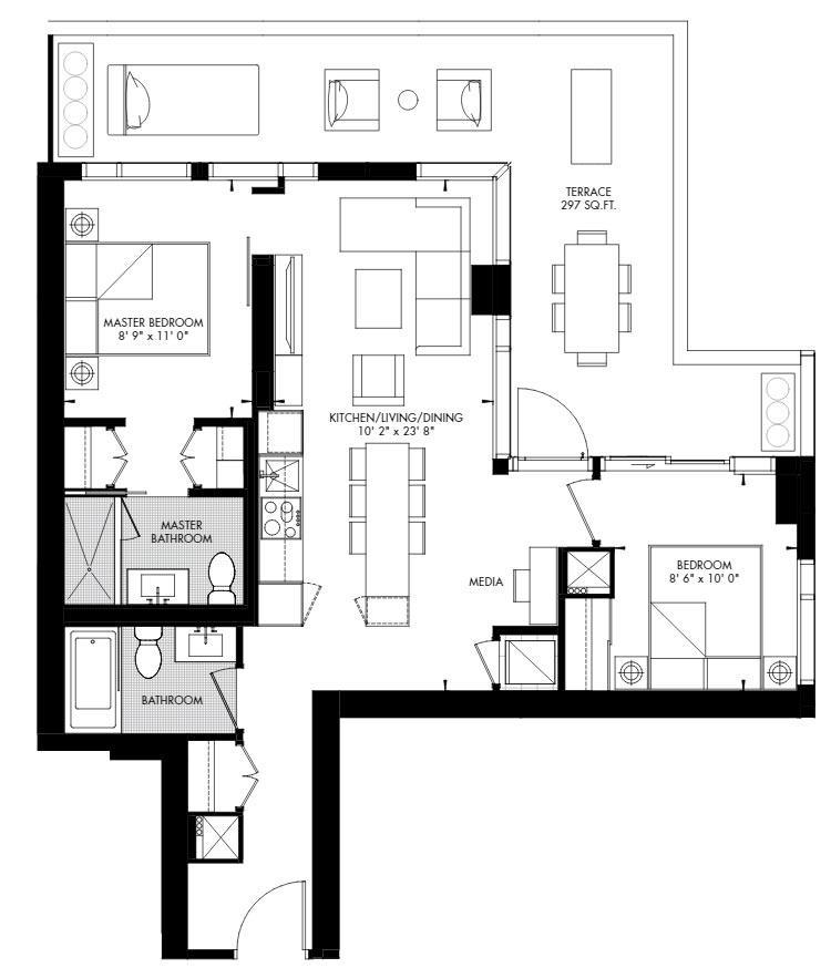 Yorkville 59 Floorplan 1