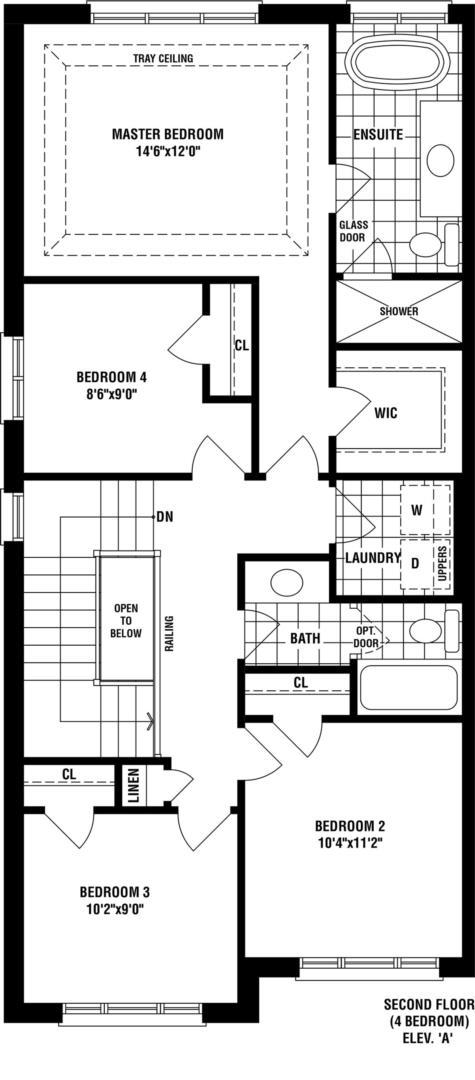 Cayenne A Floorplan 2