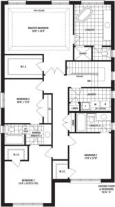 Clarridge Floorplan 1