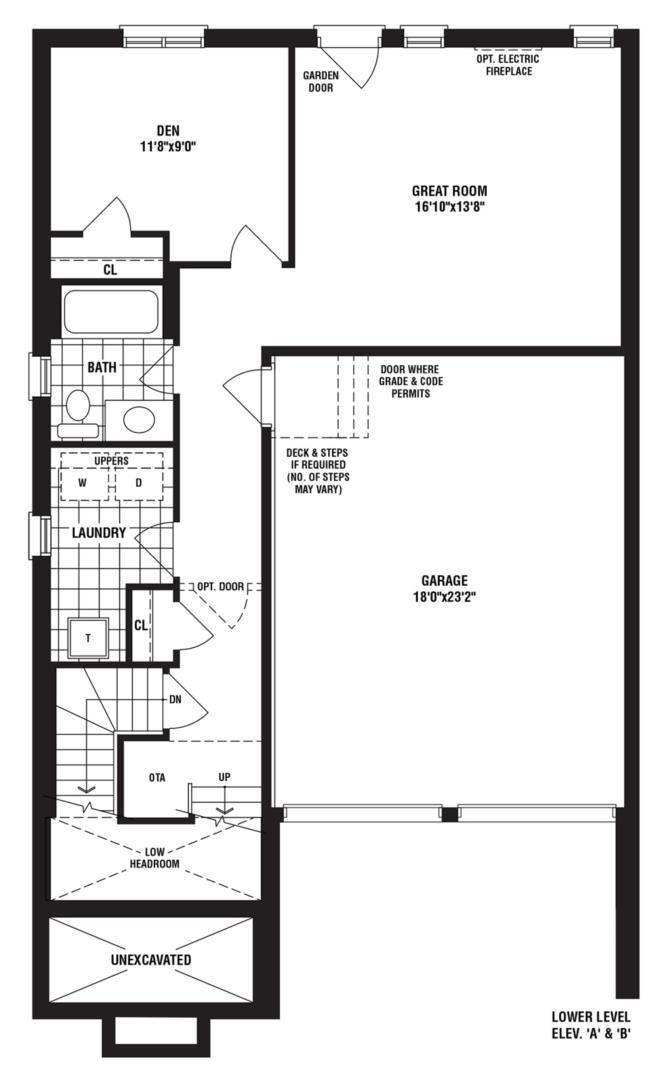 Diamond A Floorplan 1