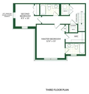 The Halloway B, Building G Floorplan 3