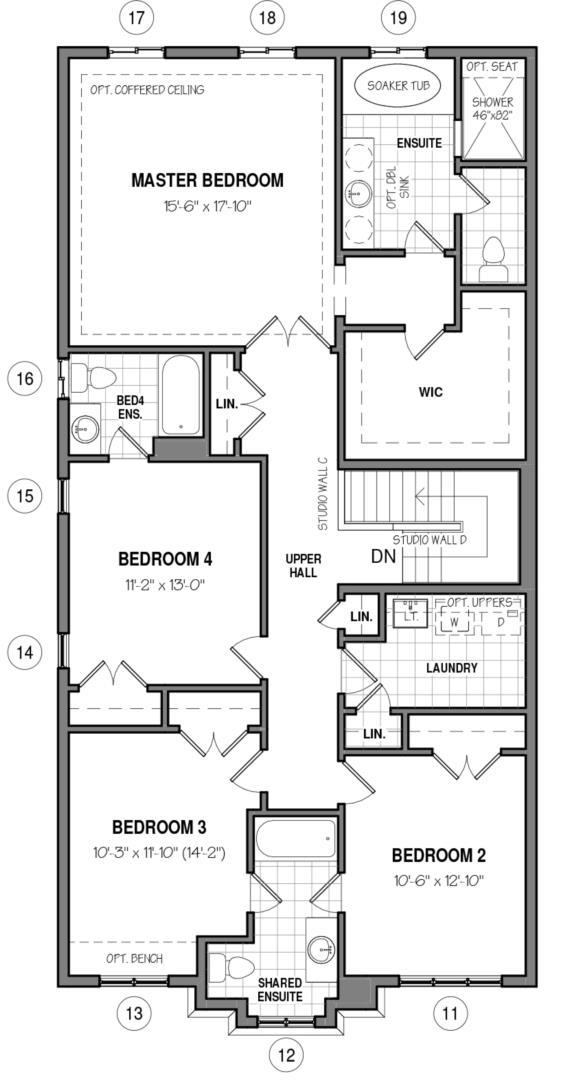 The Hampton 34 IV A Floorplan 2