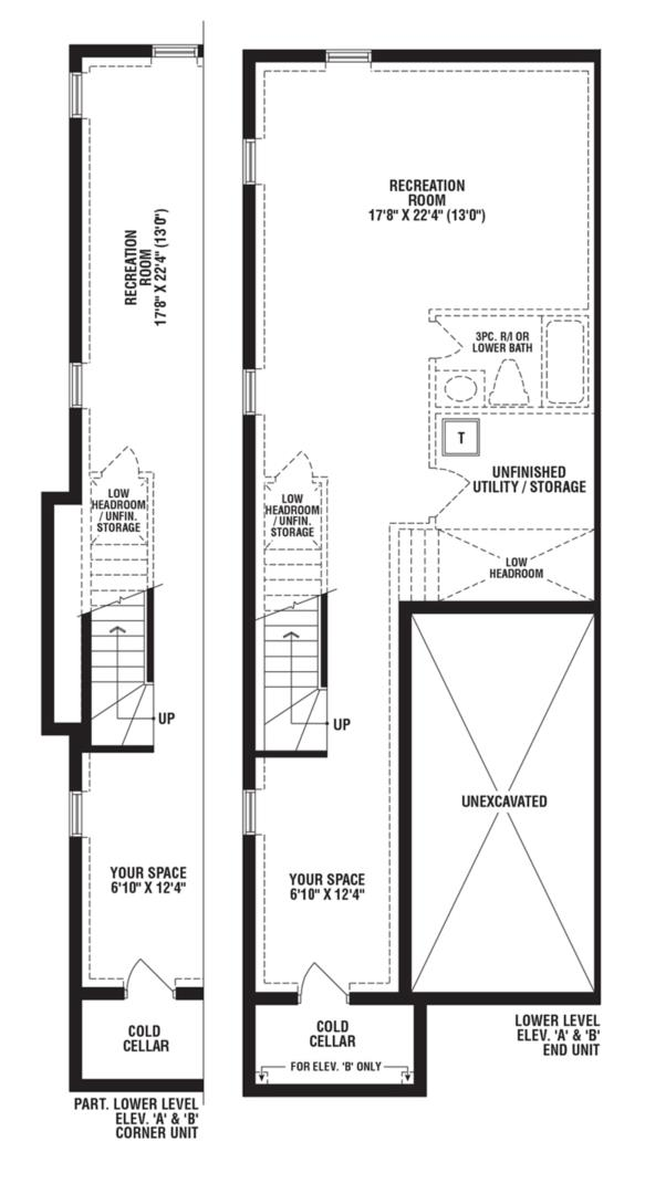 Turquoise Corner Unit Floorplan 4