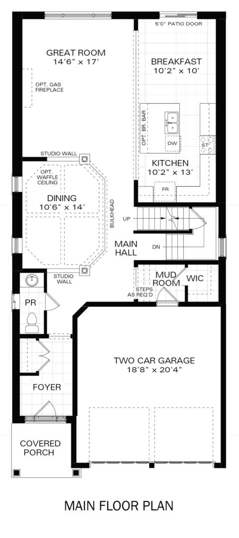 The Hampton IV B Floorplan 1