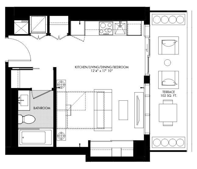 Yorkville 48 Floorplan 1