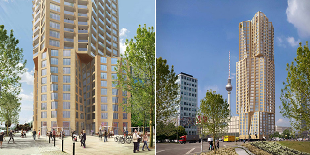 Gehry Designs Tallest Residential Building in Berlin Image