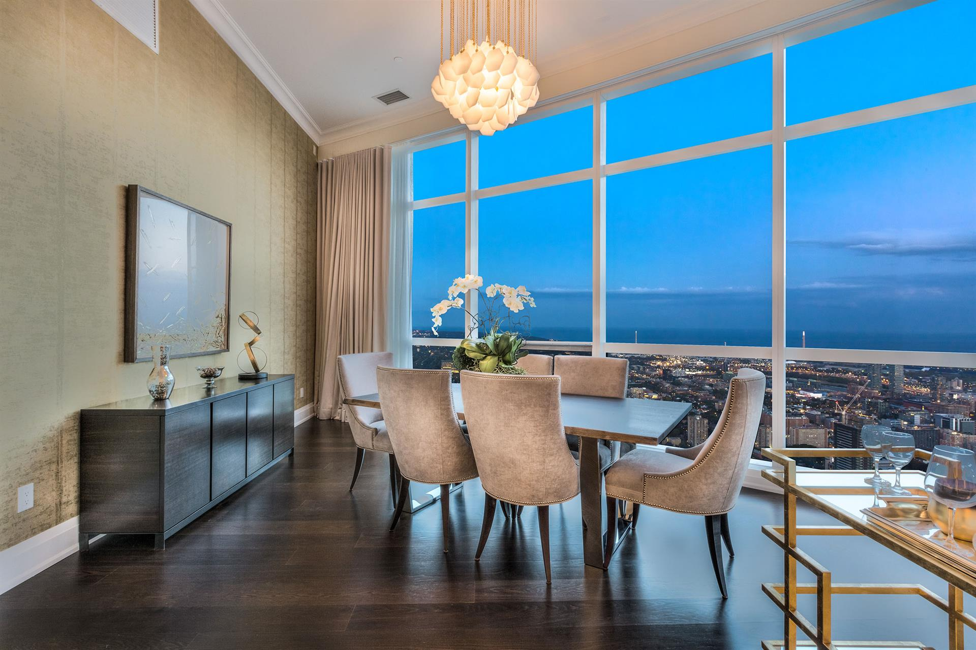 First look at the Aura Penthouses, the highest condo units in Canada Image
