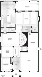 Bronte Creek Floorplan 1