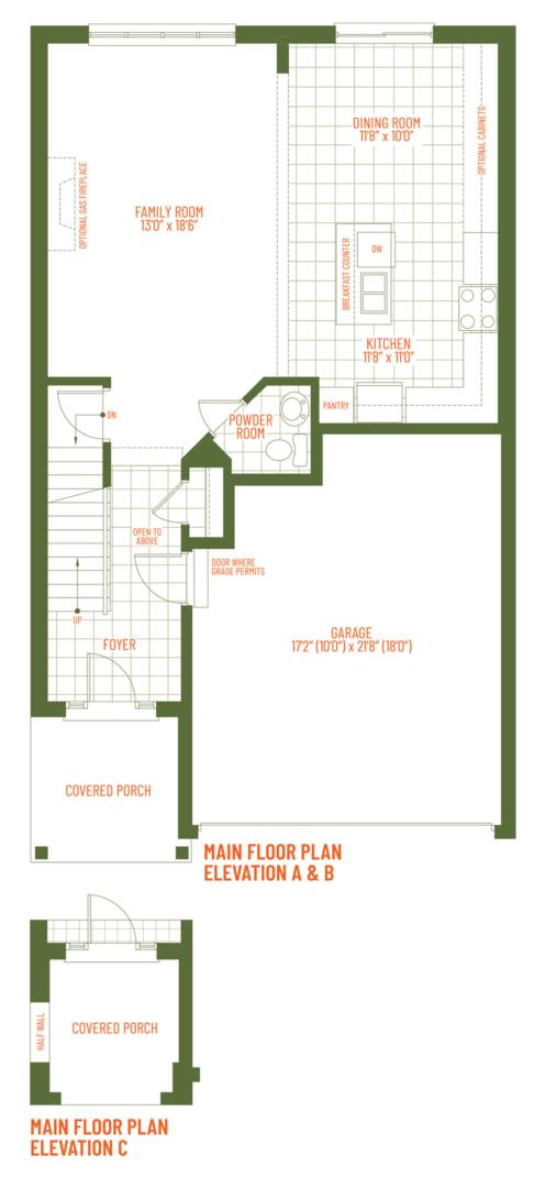 The Grange Floorplan 1