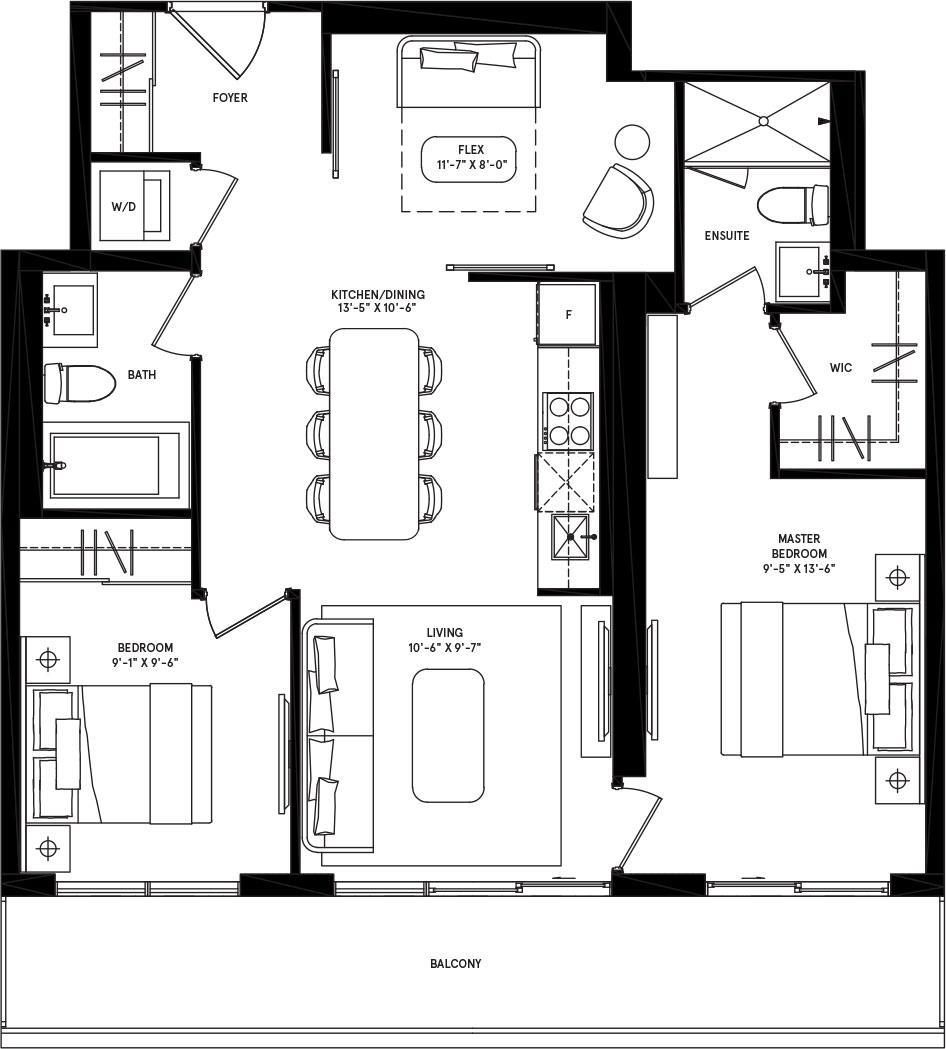 Chicago Floorplan 1