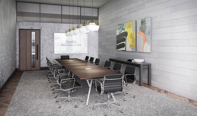 The Mindspace at 130 QQE in Toronto by Daniels