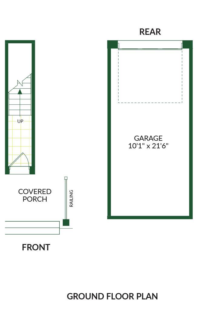 The Halloway B, Building G Floorplan 1