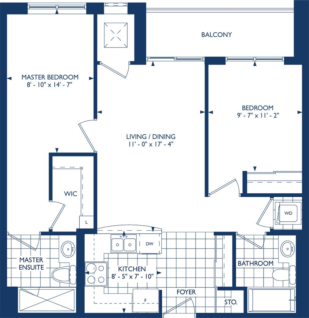 The Cambridge Floorplan 1