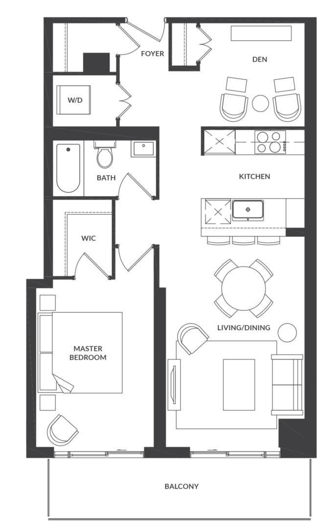 Suite 304/404 Floorplan 1