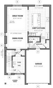 The Oxford 34 IV A Floorplan 1