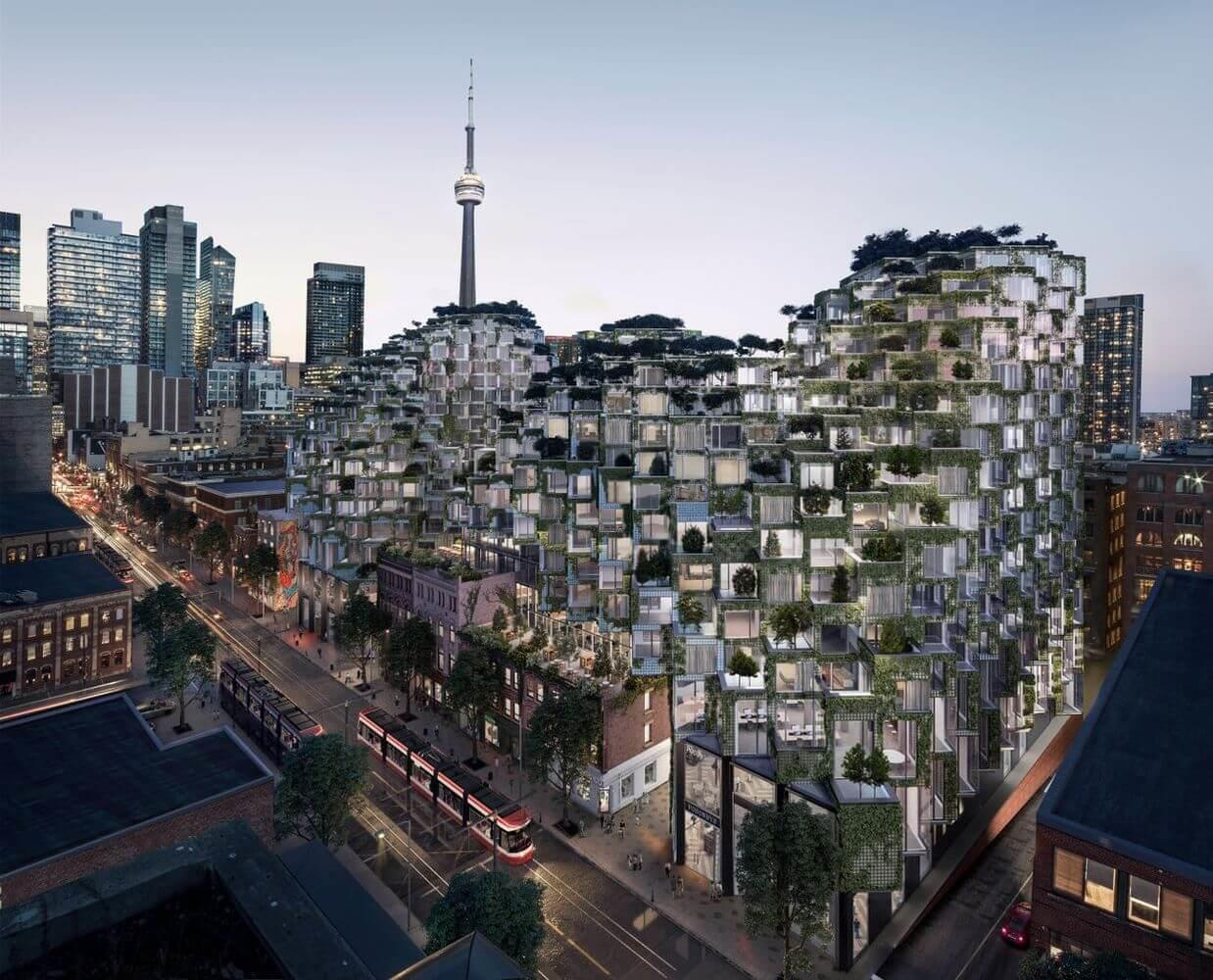 BIG's King Street West project a game changer for Toronto Image