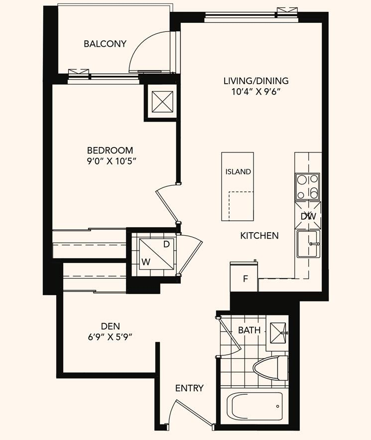 The Springfield Floorplan 1