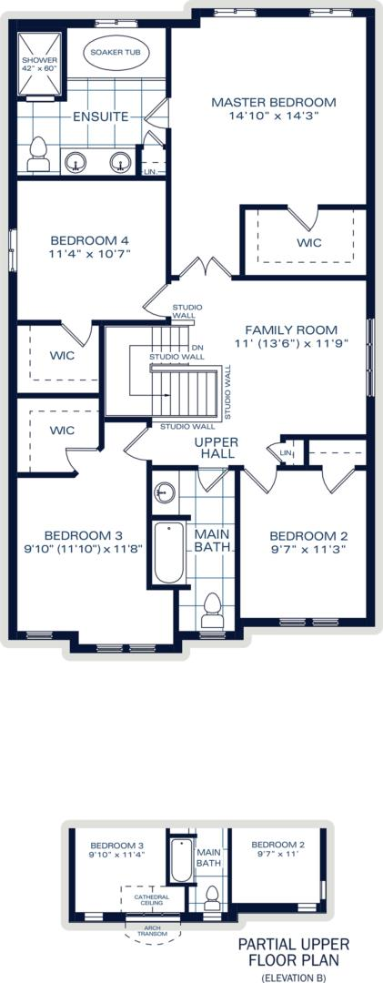 The Elmsgate B Floorplan 2