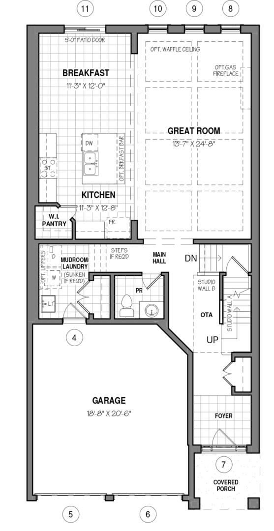 The Kahlo 34 IV A Floorplan 1