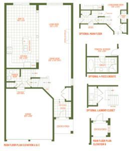 The Mapleview Floorplan 1