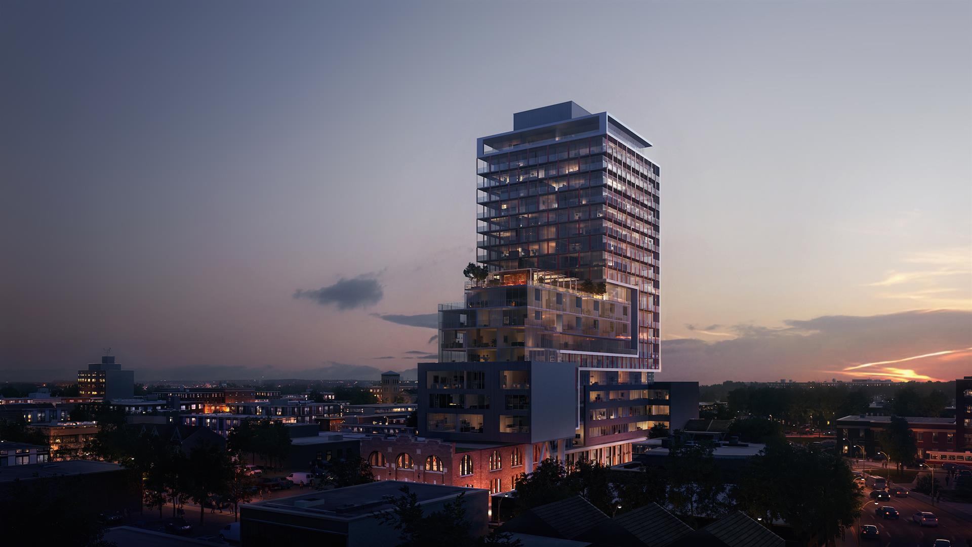 East United Condos - Check out this Bold Condo Design! Image